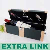 China Alibaba Decorative New Design Wooden Wine Box