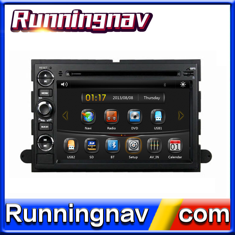 "7"" Android For Ford Fusion/ Explorer / F150 / Expedition 2006 2 Din Quad Core / Qcta Core HD Car DVD Player GPS Navigation Radio"