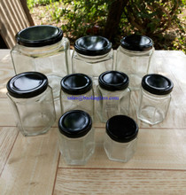 glass jars, bottles & preserving jars