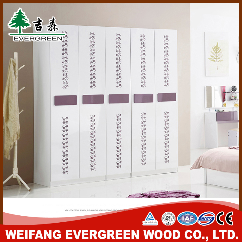 Bedroom Wooden Wardrobe Door Designs From China factory