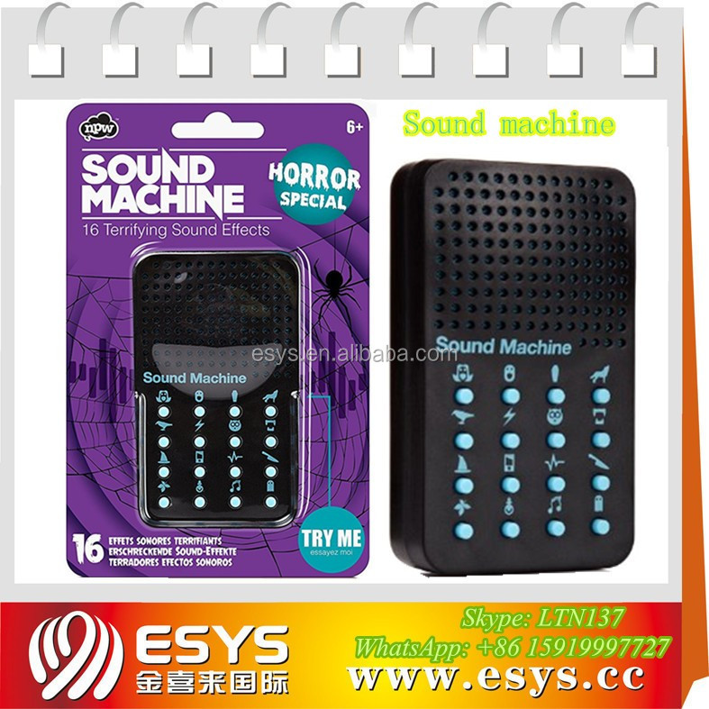 Custom button sound effects machine for promotional gifts
