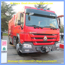 Forest Fire Truck 12000l Howo 4x4 Size Of Fire Truck
