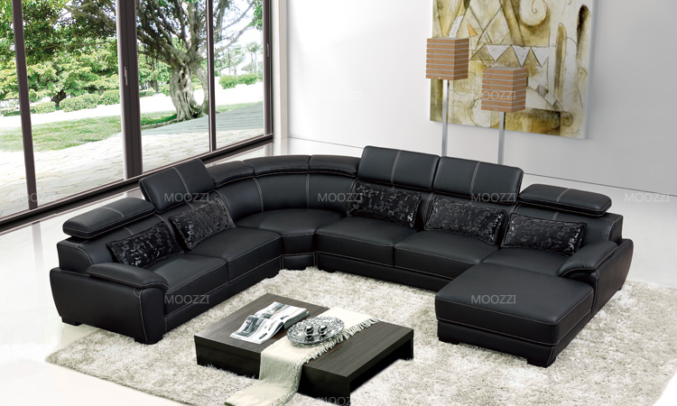 Factory price extra large sectional sofas