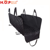 Manufacturer Wholesale Soft Quilted Oxford Protective Waterproof Dog Hammock Pet Car Seat Cover