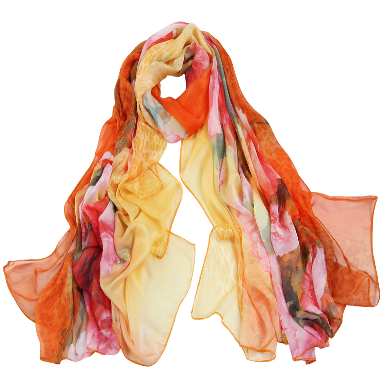 Fashion custom printed polyester beach scarf sarong with cheap price