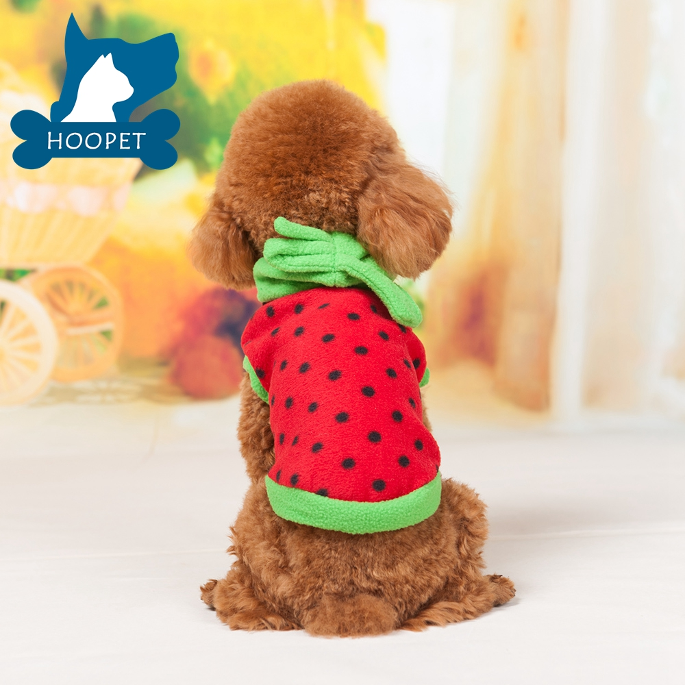 Lovely Watermelon Pet Clothes T shirts Thick Sports Wear Distributer