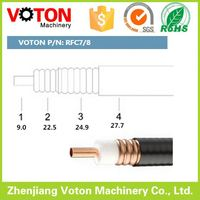 Made in China High quality 50 ohm cable 7/8, 3/8, 1/2 super flex, rf coaxial feeder cable