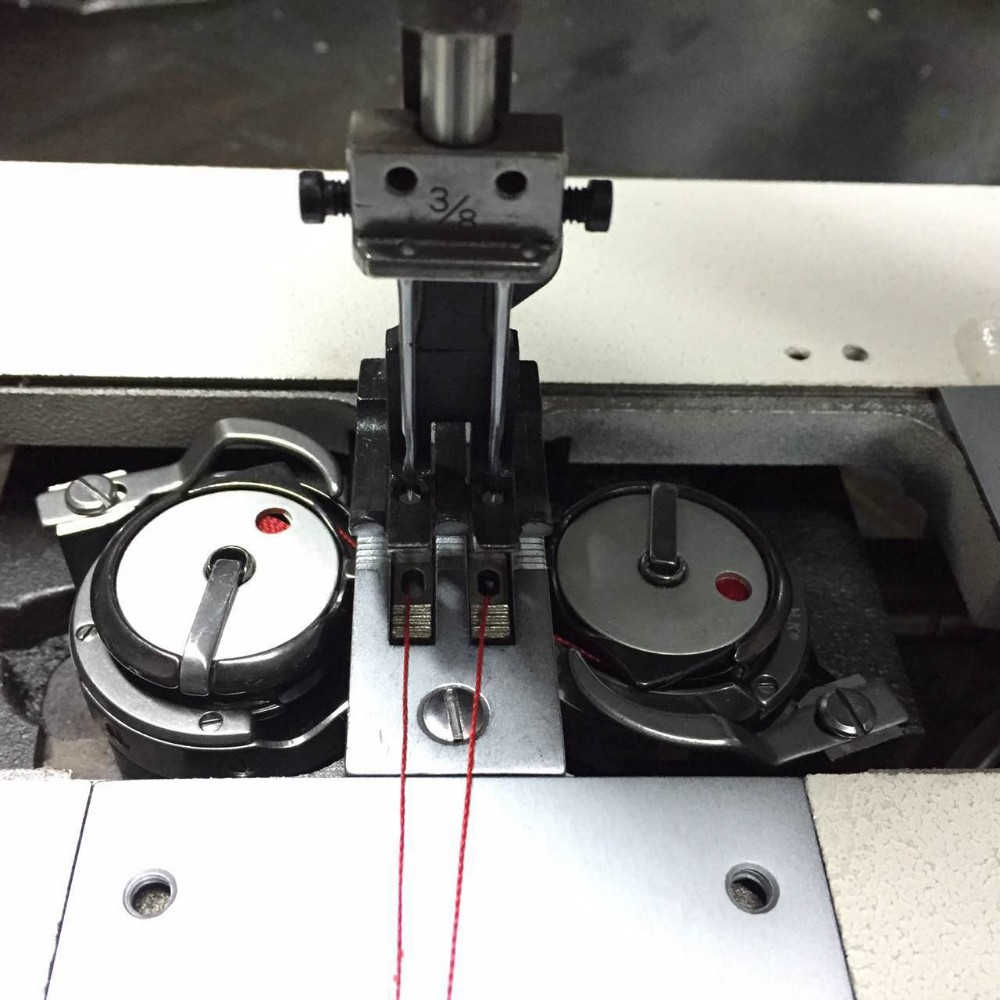 DT 4420HL-18 long arm single/double needles compound-feed industrial lockstich flat lock sewing machine price