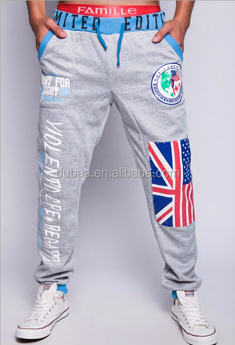 Men's Casual Sweatpants Jogger Dance Sportwear Baggy Harem Slacks Trousers