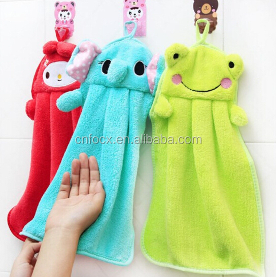 Good design hand dry towel / kitchen towel / hanging kitchen hand towels