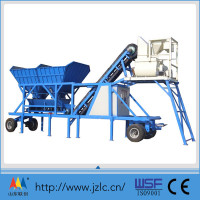 YHZS 25 mobile concrete batch mixing plants factory In china