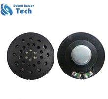 Newest product 40mm 300 ohm 0.02w mini speaker for headphone