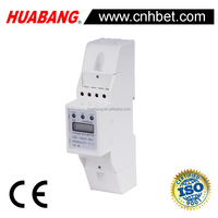 Single Phase DIN Rail smart energy meter V A KW COS HZ