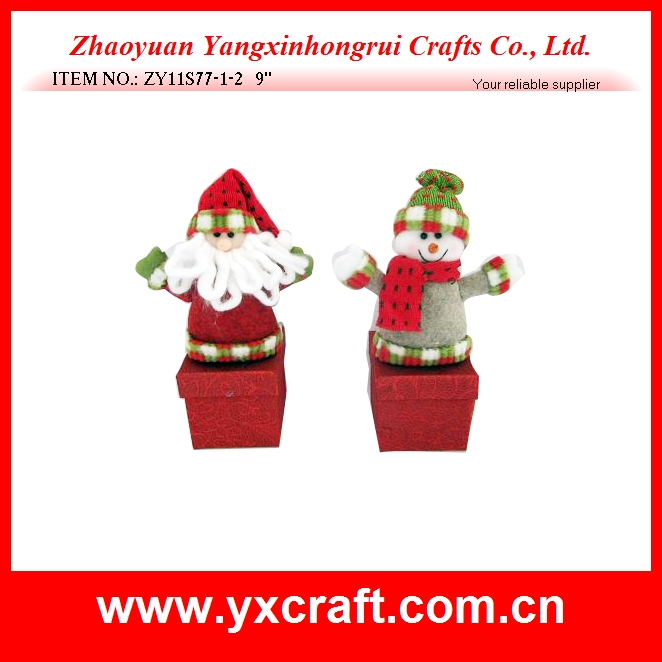 Custom decorative christmas ornaments empty gift packaging box