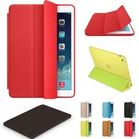 new original leather smart case for apple ipad air