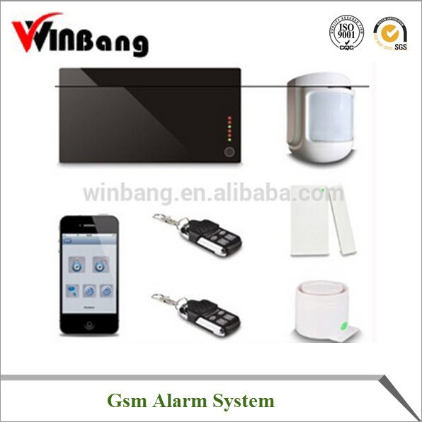 2016 Most Popular Online Supplier High Quality Gsm Alarm System