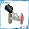 Carbon Steel Pneumatic DN65 Steam Angle Seat Valve Price