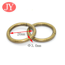 3*20mm o loop ring buckle loop for curatin