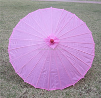 wholesale Paper canopy Radius 42cm Bamboo ribs Wedding parasols Chinese sun umbrellas