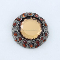 High quality cheap wholesale brooch diamante crystal brooch crystal magnetic brooch