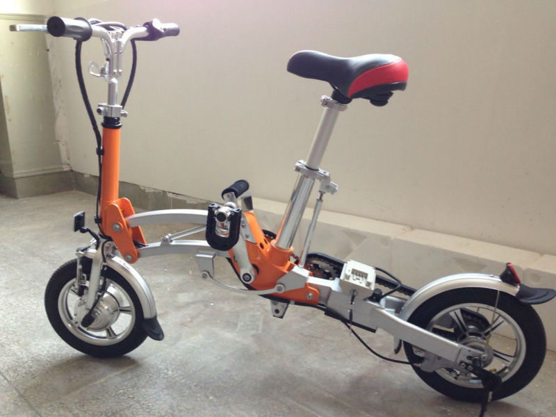 China Li-ion Battery Chainless Folding Electric Bicycle