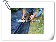 weed control mat PP/PE fabric
