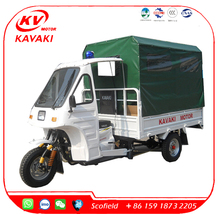 2017 China Best Quality Cargo Tricycle 3 Wheels Ambulance