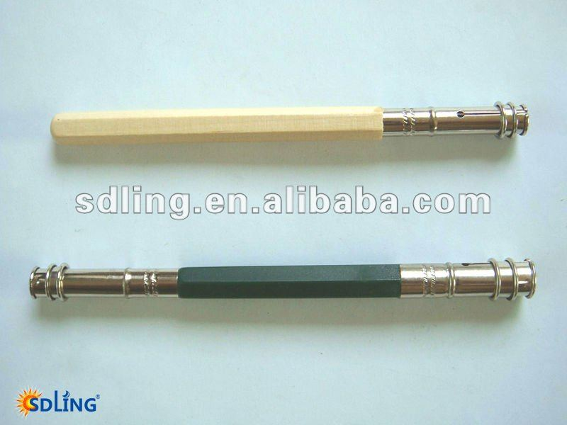 single-end Wooden handle pencil clay sculpture