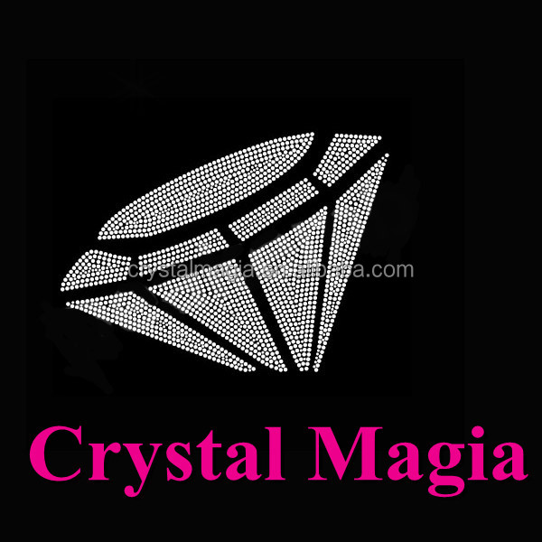 diamond rhinestone iron on transfer motifs