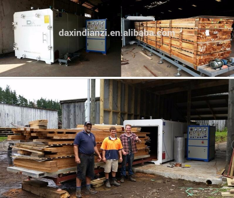DX factory wood drying kiln