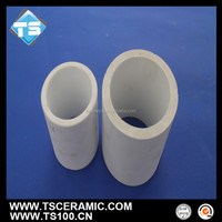 wear-resistant ceramic tube for mine and powder plant