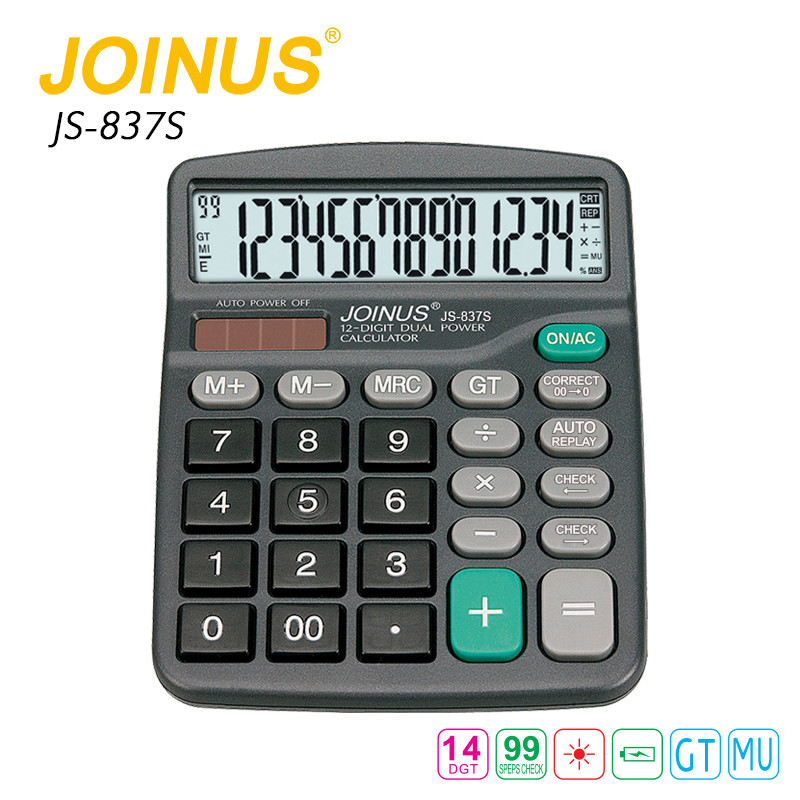 Good Manufacturers JOINUS Student 14 Digit Check Correct Calculator