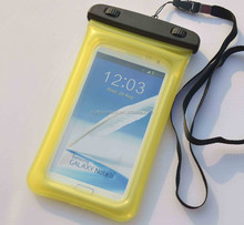 High quality PVC material inflatable mobile phone waterproof smart phone bag