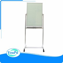 Magnetic glass board whiteboard with stand tempering glass board white board for office supplier