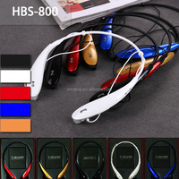 Sporting neckband stereo headphones hbs 800 bluetooth headphones