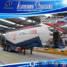 Truck Trailer Type/Bulk Cement&Powder Material Tanker Trailer With Generator(Volume Optional)