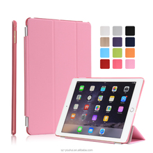 12 Colors Multicolor Soft PU Leather Case Smart Magnetic Flip Cover for iPad Air 2 with Auto Wake Up Function