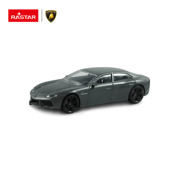 Lamborghini grey color Estoque Rastar die cast metal car for display