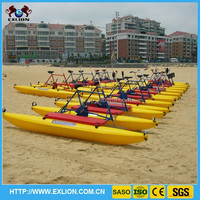 Summer hot sale water pedal bike, water boat sea bike for sales