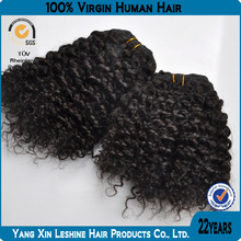 alibaba manufacturers natural color wholesale kinky curly hair weaving for black women