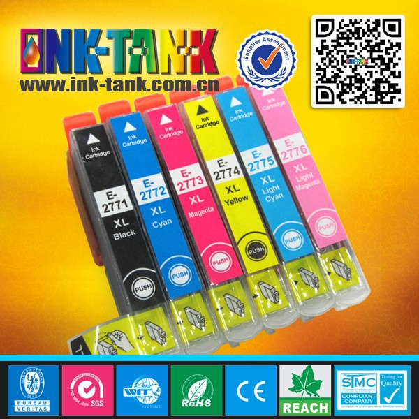 T277XL120 / T277XL220 / T277XL320 / T277XL420 / T277XL520 / T277XL620 compatible for epson 277XL printer cartridges ink