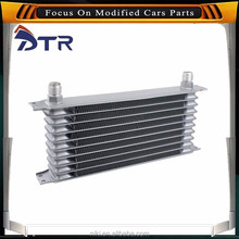 100% Aluminium Auto automotive oil cooler , water cooling engine fit for sale
