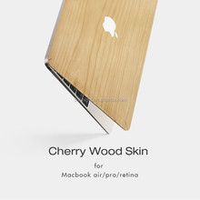 Hotsale Factory Price Wooden Smart Tablet Case with customized size case skin for Macbook