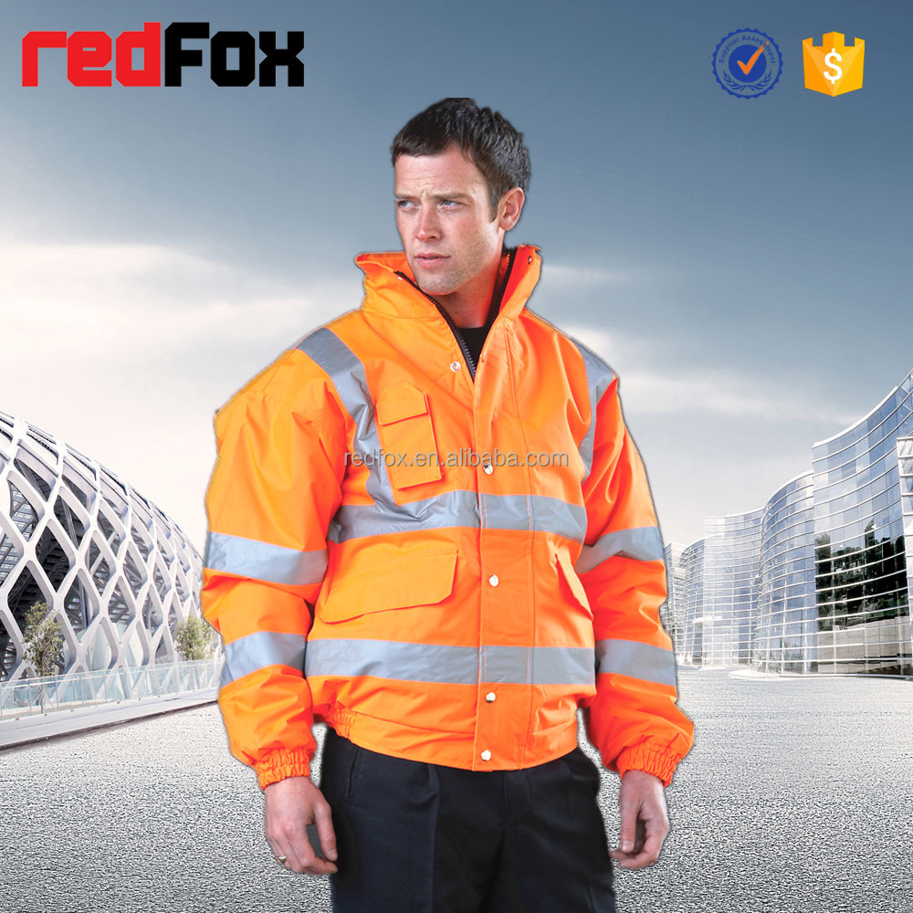 Wholesale Safety Outdoor Waterproof Jacket Designed for Man