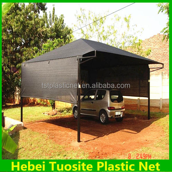 car parking awnings with black color