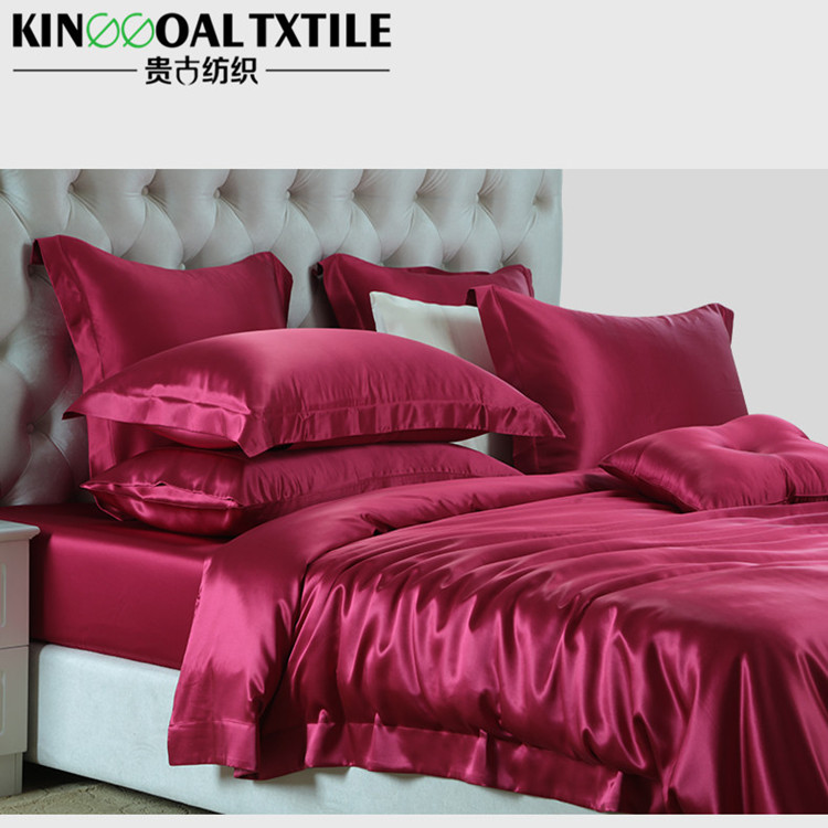 16mm Quality Seamless Cocoon King/ Queen size Silk bedding sets