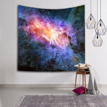 Space Printed Beach Throw Spreadsheet Wall Art Hanging Bohemian Tapestry