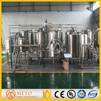 1000L Turnkey Microbrewery Beer Producing Machine