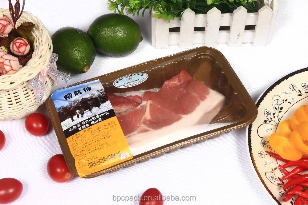 B series heat shrinking bag applies to poultry ,frozen beef,mutton,pork packaging