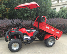 (JLA-13T-10) electric gy6 engine 4 wheels farm atv dumper for sale
